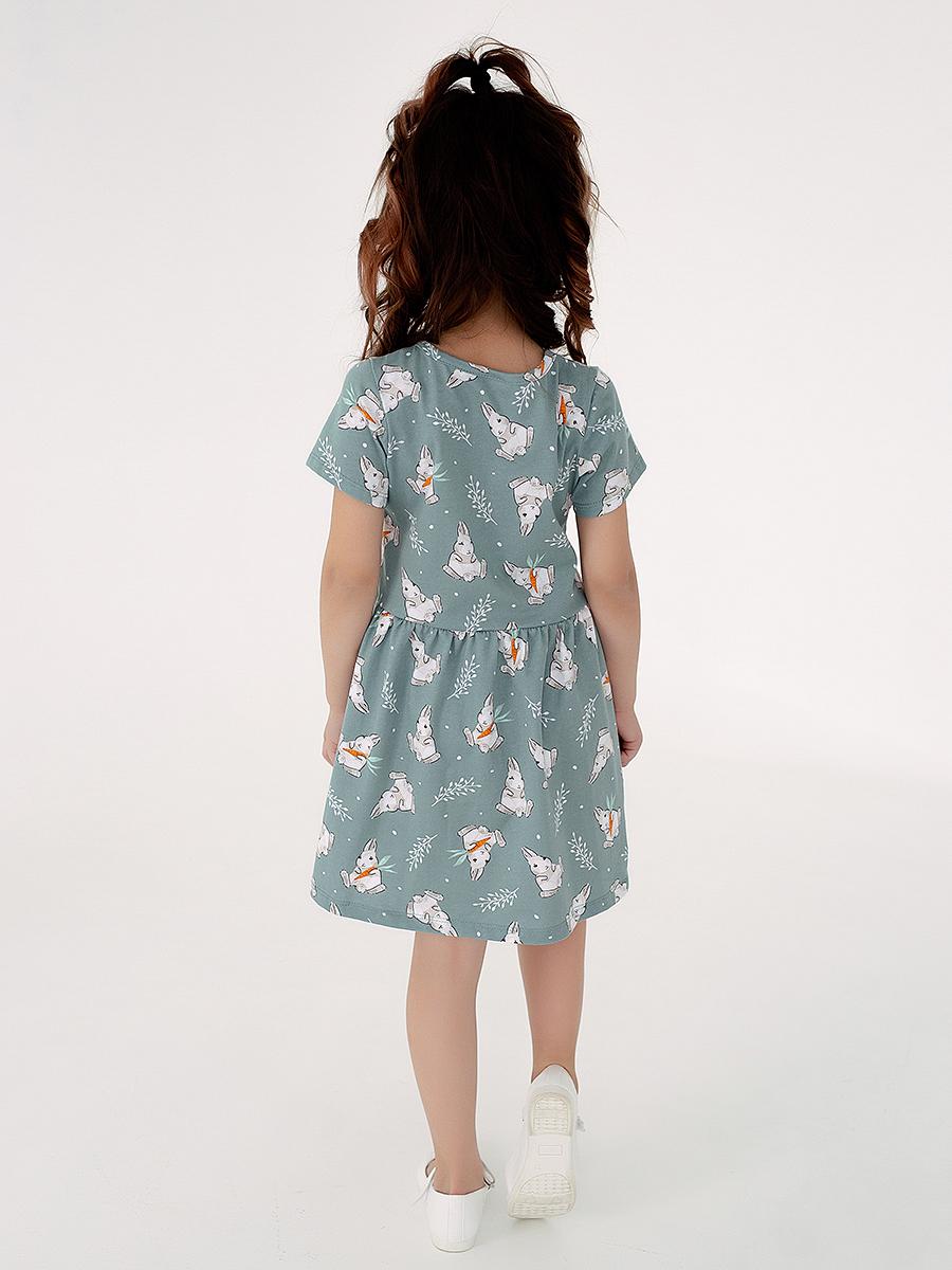 Платье Лето зайки полынь