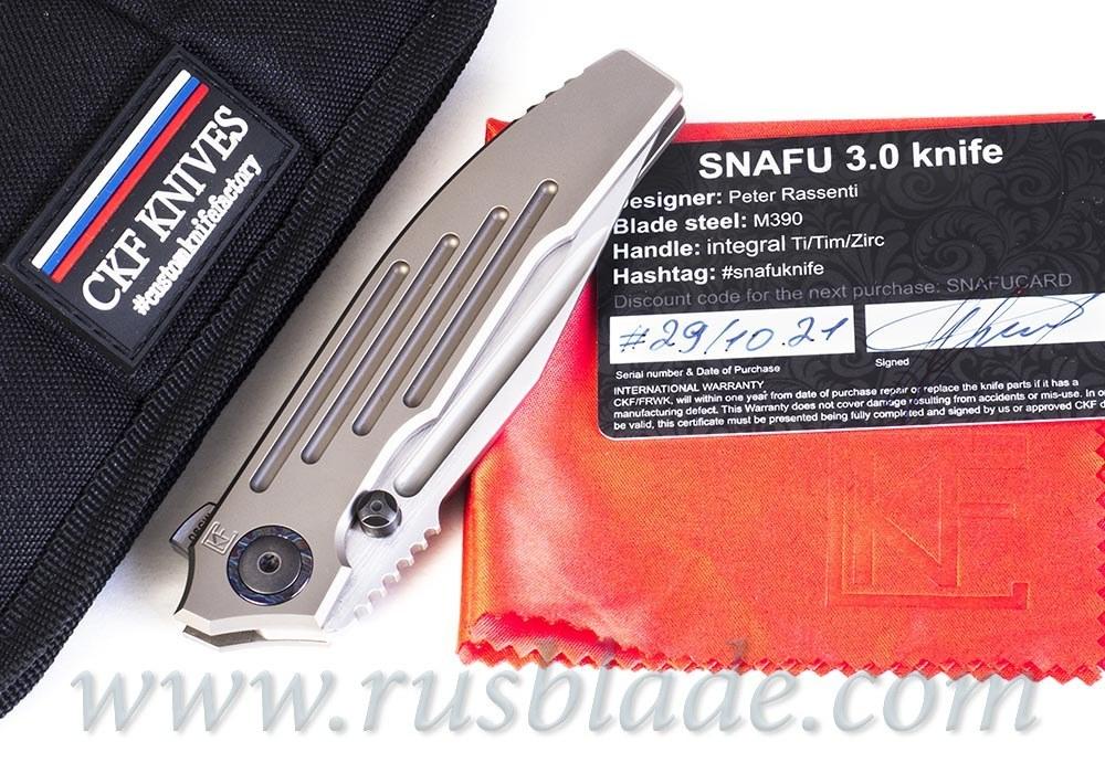 CKF/Rassenti SNAFU 3.0 A collab knife
