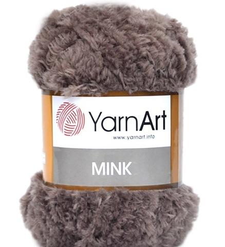 Пряжа YarnArt Mink - (332-темно-бежевый)
