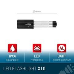 Ansmann X10 LED фонарик