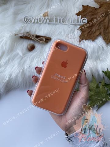 Чехол iPhone 7/8 Silicone Case Full /papaya/ папая