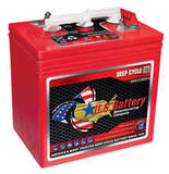 Аккумулятор U.S.Battery US 2000 XC2 ( 6V 220Ah / 6В 220Ач ) - фотография