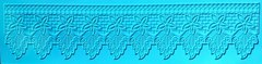 Силиконовый коврик для айсинга и декора  Кружева Алансон