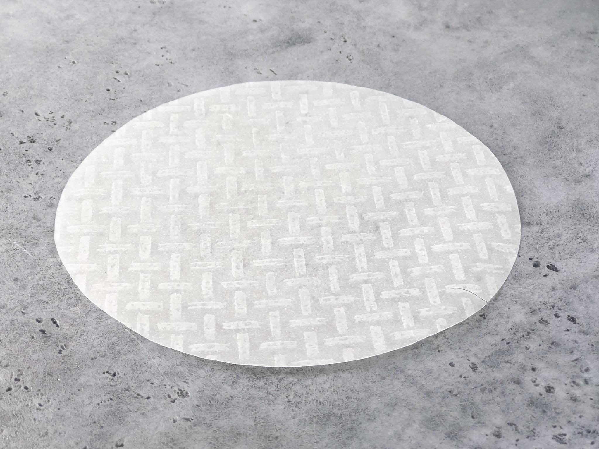 Рисовая бумага  (круглая), 5 листов