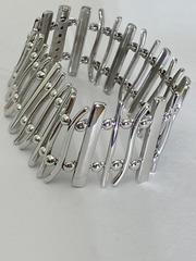Забор (браслет из серебра)