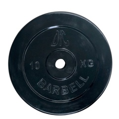 Диск обрезиненный DFC 10 кг (26 мм) WP021-26-10