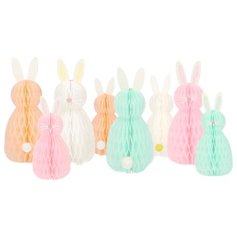 Фигурки кроликов