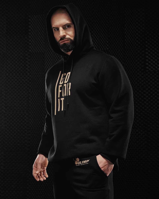 Мужская толстовка Olimp Gold Seriers Black