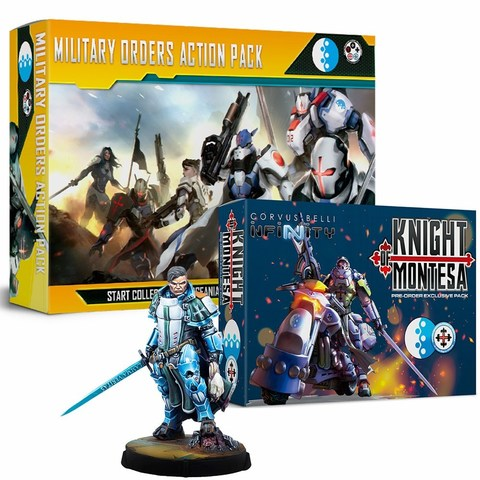 Bundle Military Orders: Action Pack+Knight Of Montesa+Padre-Inquisidor Mendoza