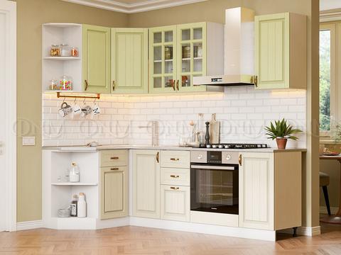 Кухня Угловая Настя фисташка №2