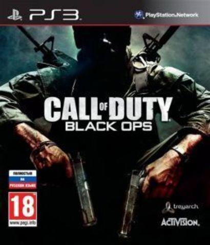 Call of Duty: Black Ops (PS3, c поддержкой 3D, английская версия)