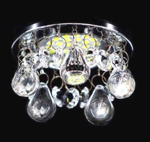 Светильник встраиваемый 3207-2RG Золото