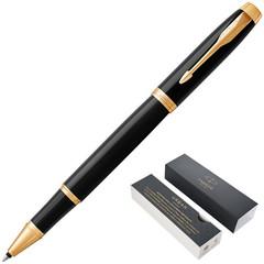 Роллер Parker IM GT цвет чернил черный цвет корпуса черный (артикул производителя 1931659)