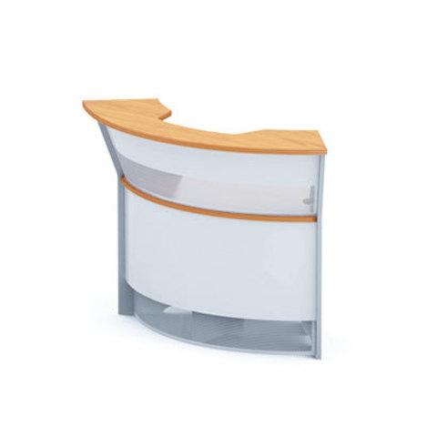 Стол-ресепшн угловой наружный для компьютера (h=114 см) БОСТОН
