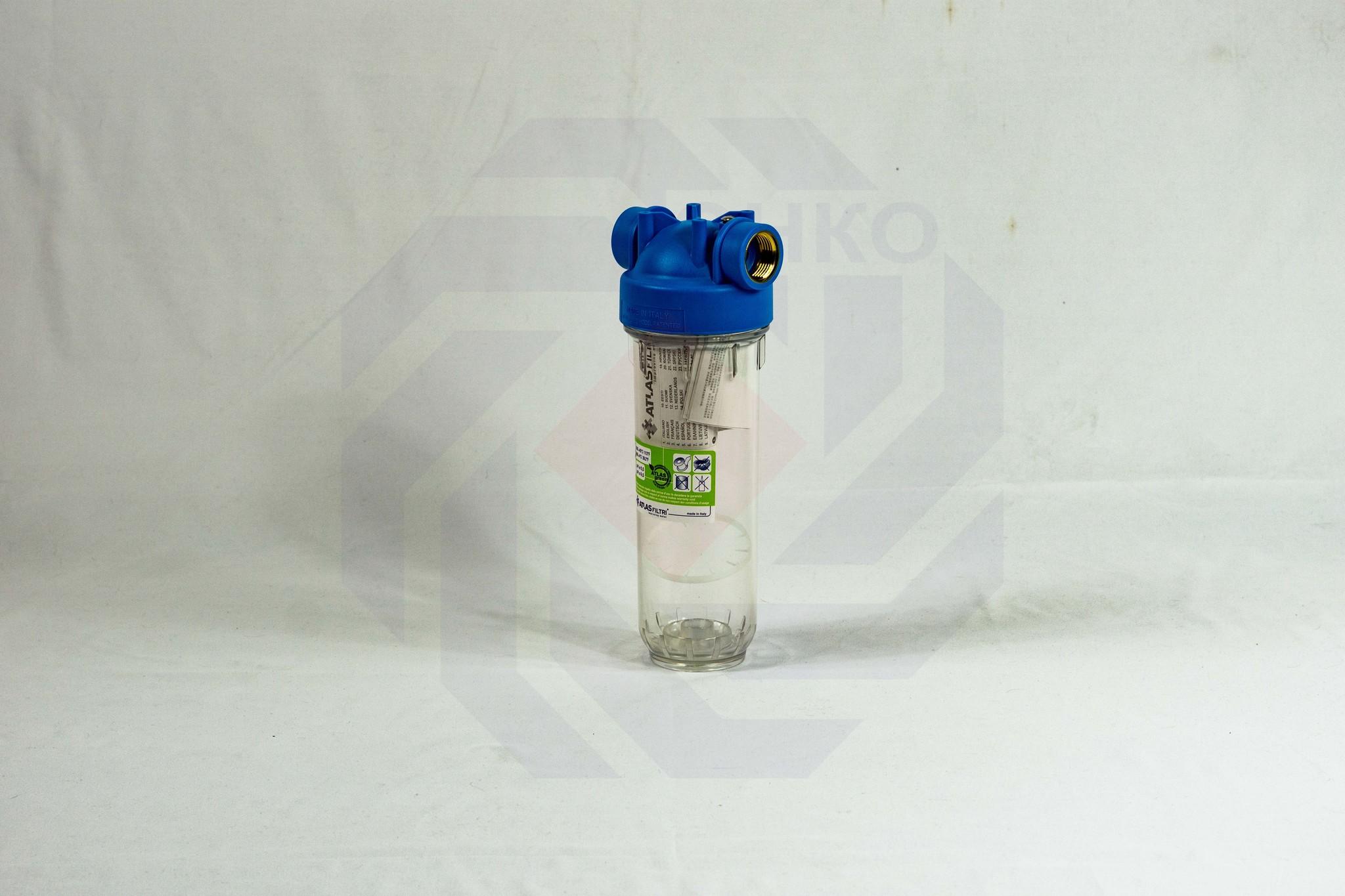 Корпус фильтра одинарный ATLAS DP 10 MONO OT TS ¾