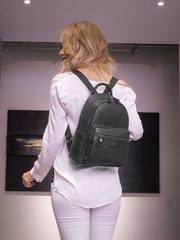 Рюкзак женский 2020772B D15 Das Schwarze DF