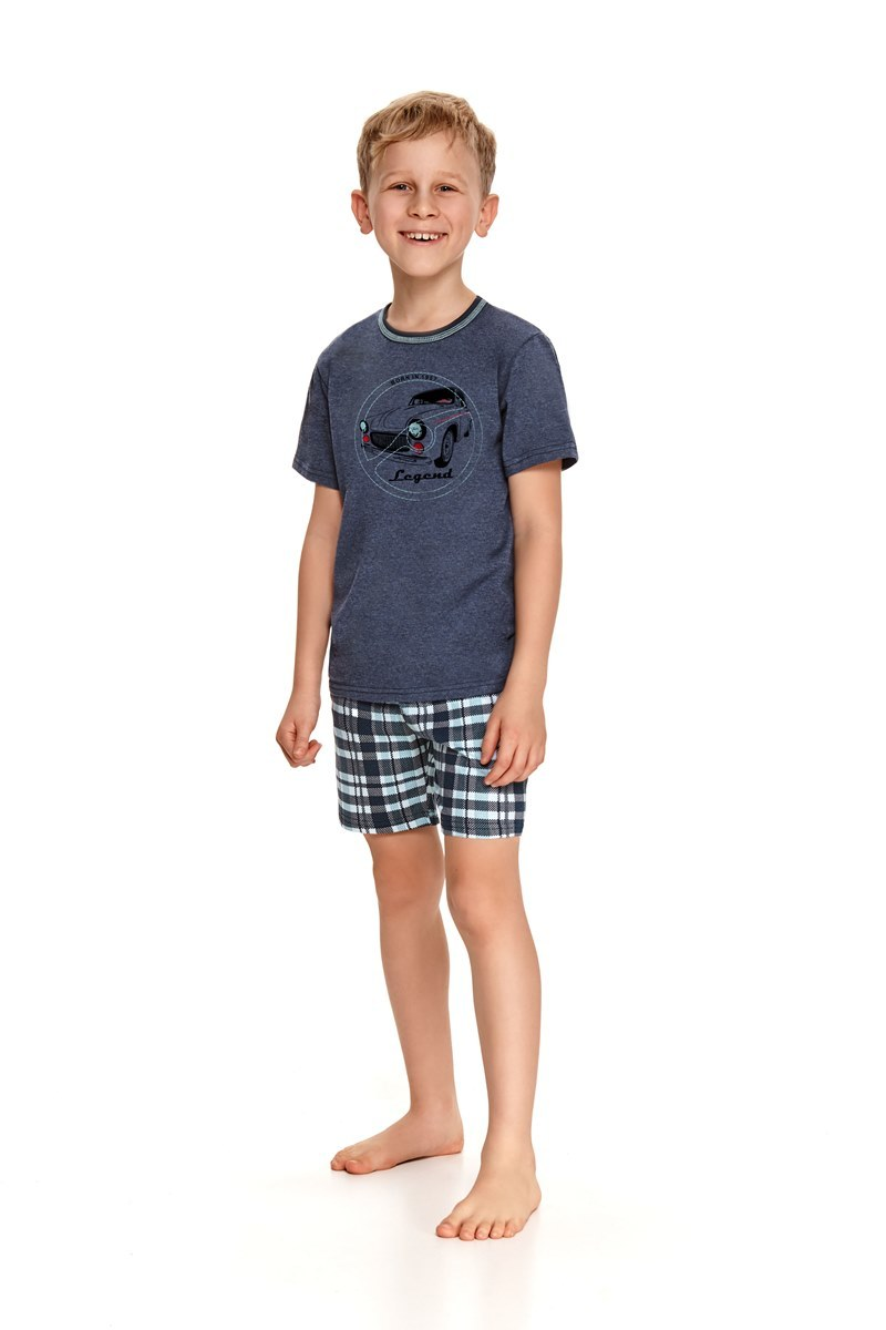 Пижама для мальчиков с шортами TARO 943/944 SS21 DAMIAN