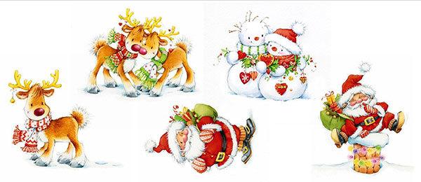 Водорастворимая бумага для мыла Санта