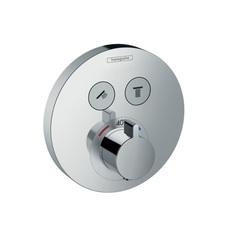 Термостат встраиваемый на 2 потребителя Hansgrohe ShowerSelect S 15743000 фото