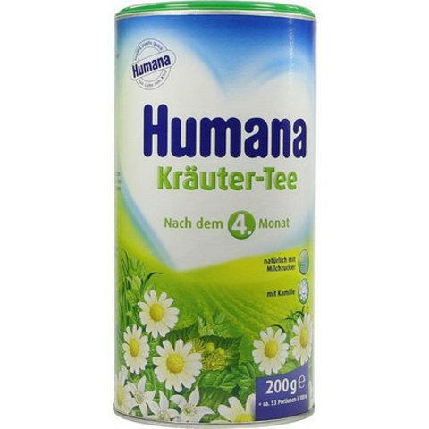 Чай травяной сбор с ромашкой, 200г Humana