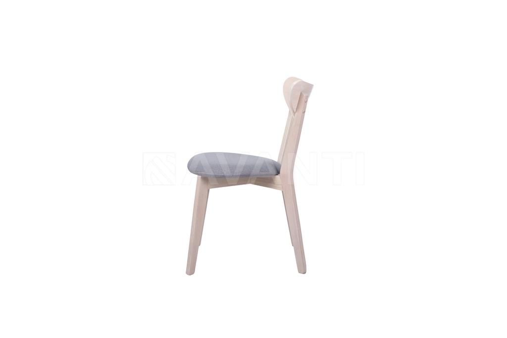 Стул RAY White Wash/Grey (серый)