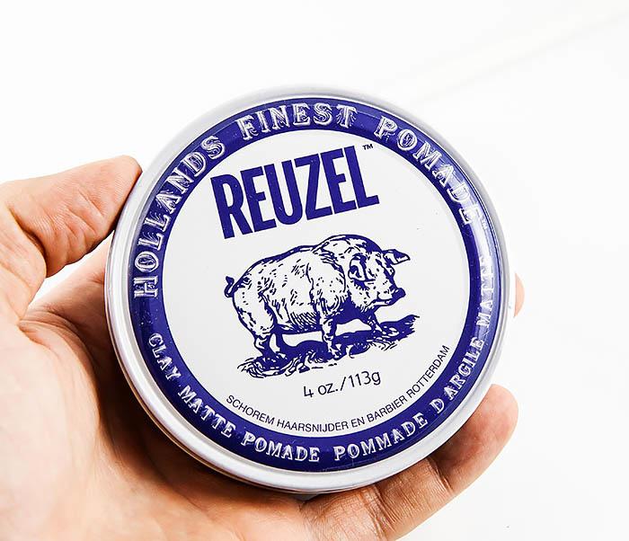 CARE127 Глина для укладки волос Reuzel Clay Matte Pomade (113 гр) фото 03