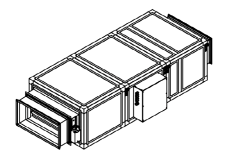 Приточная установка Breezart 3700 Lux 52,5 - 380/3