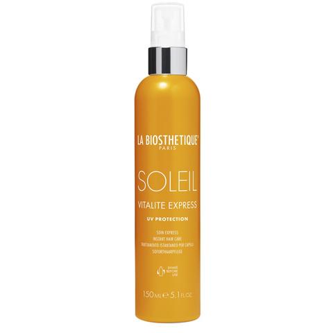 La Biosthetique Methode Soleil для волос: Спрей-кондиционер с водостойким УФ-фильтром, восстанавливающий структуру волос (Vitalite Express Soleil), 150мл