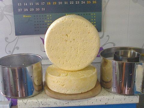 Пресс для прессования твердого сыра