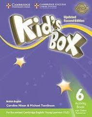 Kid's Box UPDATED Second Edition 6 Activity Book with Online Resources