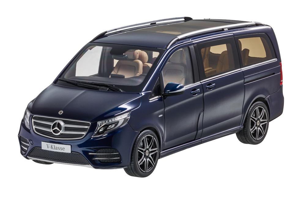 Коллекционная модель Mercedes-Benz V-Class W447 2014 Metallic Blue