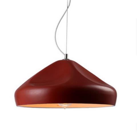 Подвесной светильник копия Pleat Box by Marset D36 (красный)