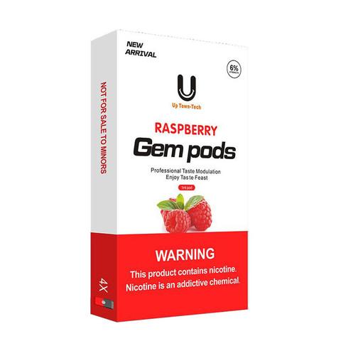 Gem Pods 4 картриджа Raspberry - Малина