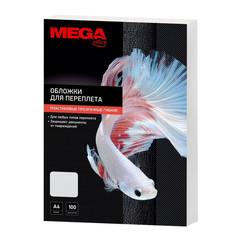 Обложки для переплета пластиковые Promega office А4 200 мкм прозрачные глянцевые (100 штук в упаковке)