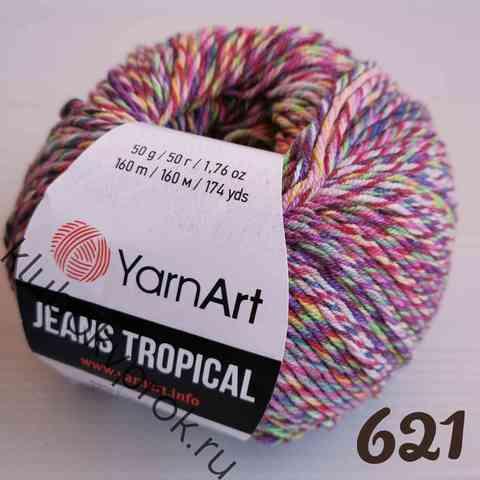 YARNART JEANS TROPICAL 621,