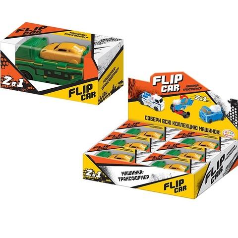 Мармелад в сах.глазури игрушкой Машинка -Трансформер Flip Car  1кор*8бл*6шт, 5г.