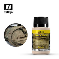 Weathering Effects 40ml. Light Brown Thick Mud