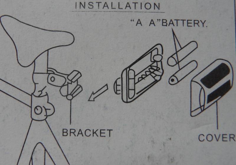Інструкція по кріпленню ліхтаря до велосипеда