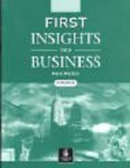 First Insights into Business WBk **
