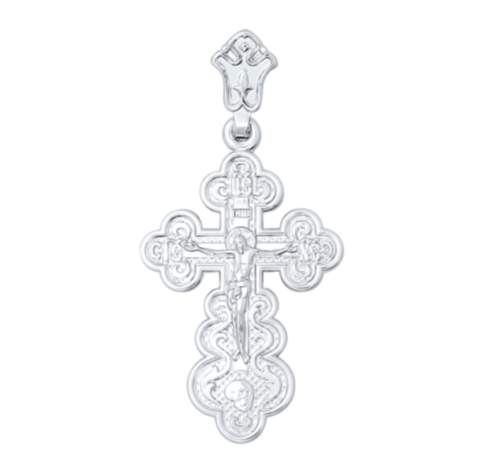 Крест православный нательный серебряный Sokolov арт. 94120056