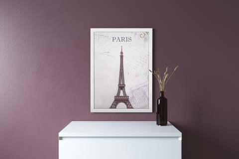 Картина в детскую комнату Paris