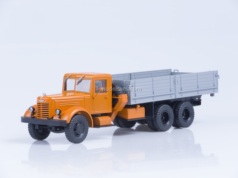 YaAZ-210 board orange-gray 1:43 AutoHistory