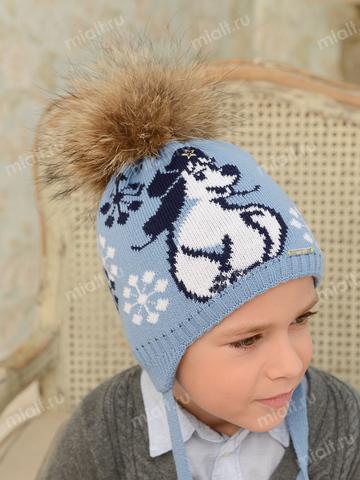 Зимняя шапка для мальчика Mialt Полярник