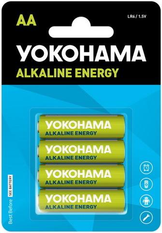Батарейки Yokohama Energy LR6, AA (4/48) BL