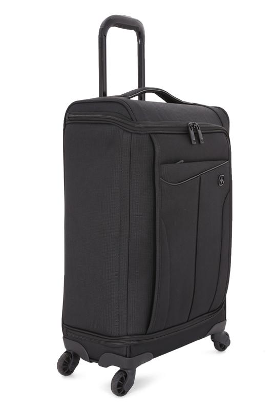 Чемодан WENGER Getaway, цвет черный, 35x20x63 см, 44 л (6067202147)