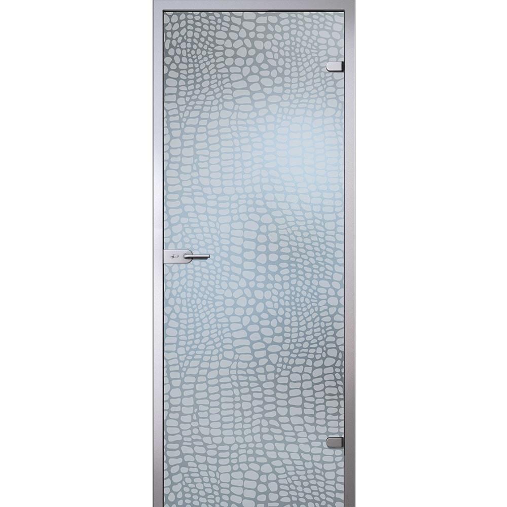 Стоимость Межкомнатная стеклянная дверь АКМА Аллигатор стекло бесцветное матовое aligator-dvertsov-min.jpg