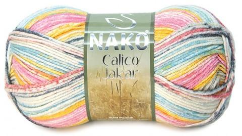 Пряжа Nako Calico Jakar арт. 31535
