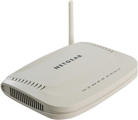 Модем netgear jdgn1000-100RUS adsl2+WiFi