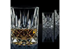 Набор из 2 хрустальных стакана для виски 295 мл и декантера 750 мл Noblesse, фото 3