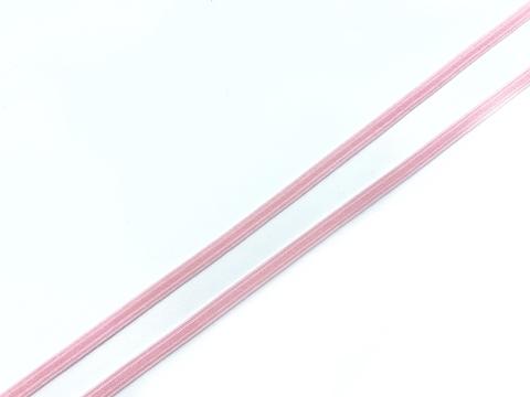 Резинка отделочная розовая 4 мм
